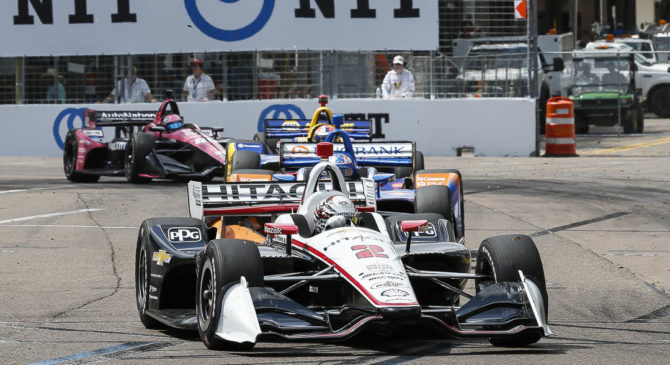 IndyCar entry list for this weekend's Grand Prix of St. Petersburg 2020