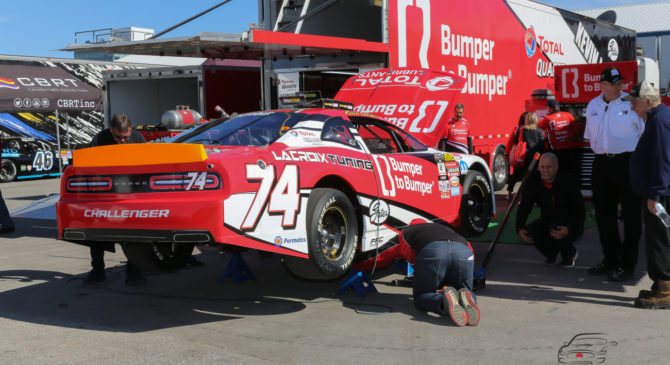 A solid start to the season for Kevin Lacroix, then a disappointment at Sunset Speedway