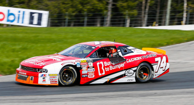 Kevin Lacroix aims for the title and nothing less in NASCAR Pinty's series.