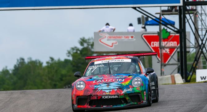 Two Podium Finishes for Patrick Dussault at CTMP