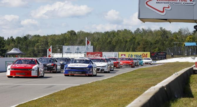 NASCAR Pinty's Clarington 200 Race Results